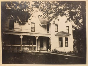 DFI House in 1915